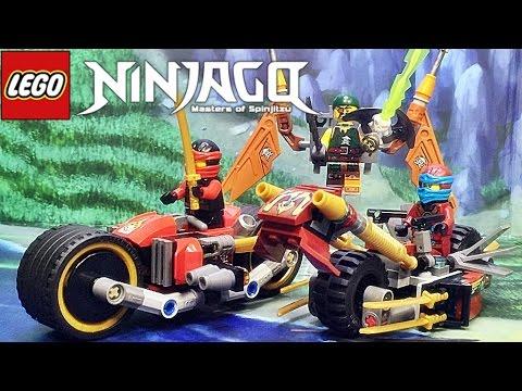 레고 닌자고 닌자 바이크 추격전 70600 스카이해적 오토바이 조립 리뷰 Lego ninjago Ninja Bike Chase 2016 신제품