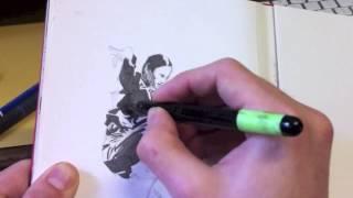 MATRIX TRINITY IN INK