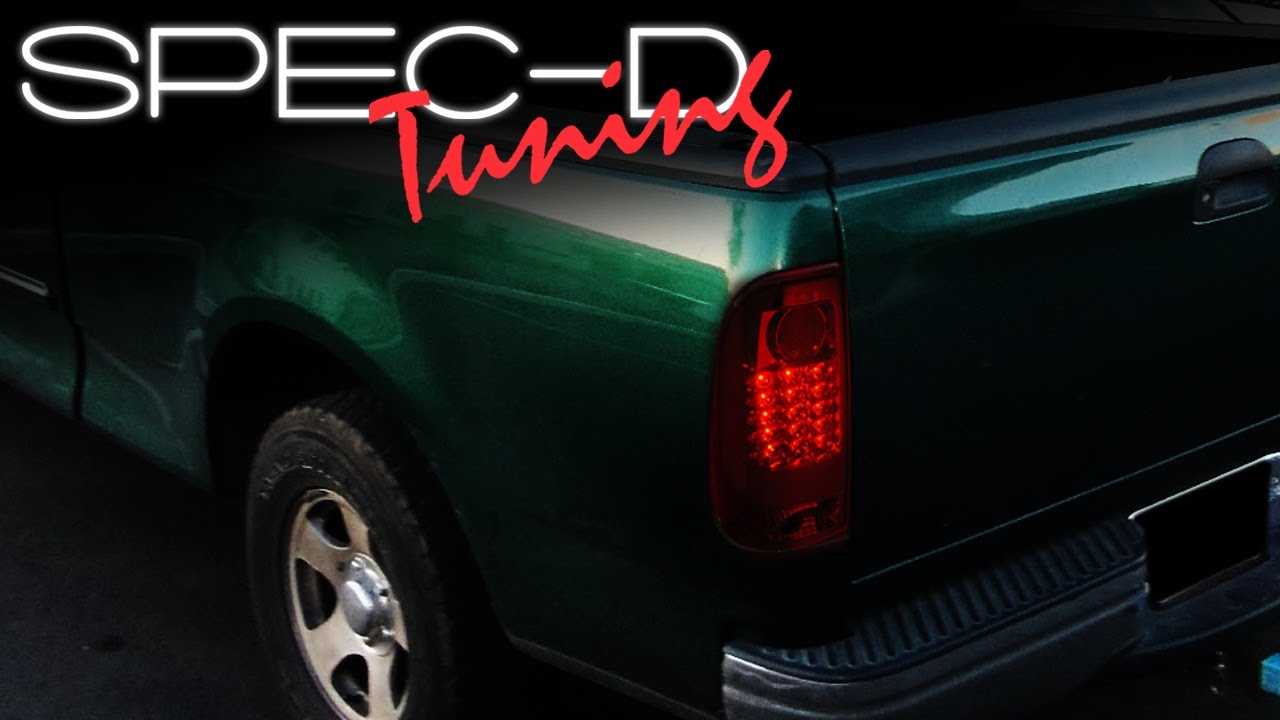 Specdtuning Installation Video 1997 2003 Ford F150 Led Tail Lights You