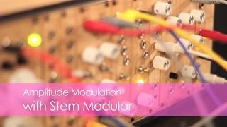STEM Modular presents Amplitude Modulation in a minute
