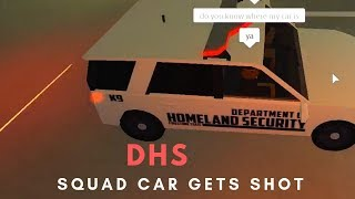 ROBLOX - France Firestone DHS Squad Car Got Shot Firestone DHS Squad Car Got Shot Firestone DHS Squad Car Got Shot Firestone