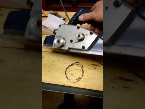 Electric planer repair broken belt hack