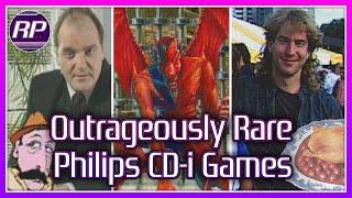 Outrageously Rare Philips CD-i Gaṁes - Retro Pals