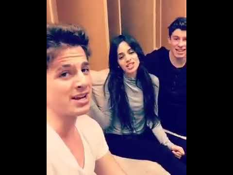Charlie Puth with Camila Cabello and Shawn Mendes ✨