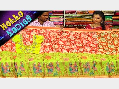 Low Cost Chanderi Fancy & Summer Cotton Sarees || Party Wear Sarees Collection || Hello Ladies
