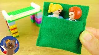 PLAYMOBIL JULIAN DVOŘÁK - SPACÁK ve stylu Minecraft - povlečení pro novou Lego postel