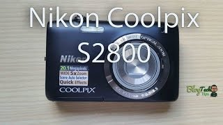 Nikon Coolpix S2800 Point and Shoot Digital Camera