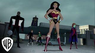 Justice League vs. The Fatal Five clip --