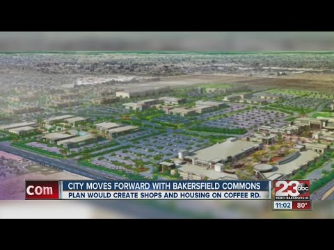 City moves forward with Bakersfield Commons