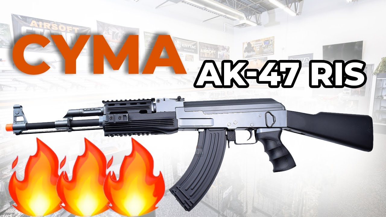 CYMA CM028 RIS AK-47 Tactical Airsoft AEG Overview