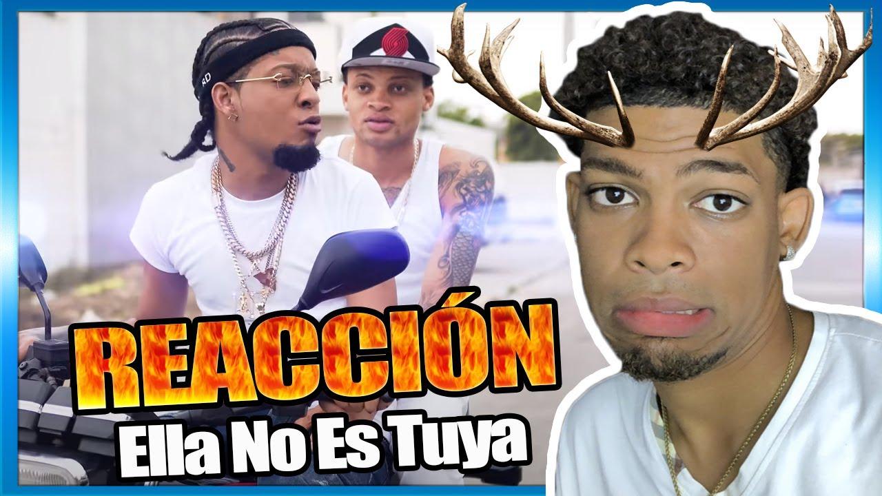Rochy RD - 🐮 Ella No Es Tuya 🦌 [VÍDEO REACCIÓN]