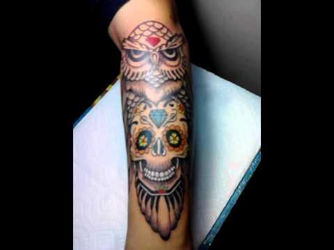 Buho Mexicano Tatuajes T Tattoo