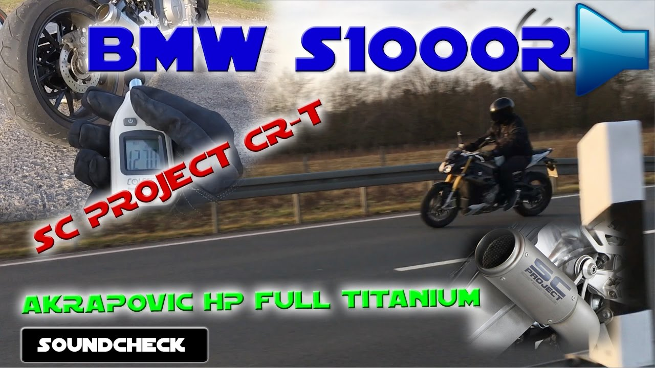 Bmw S1000r Akrapovic Hp Full Titanium Sc Project Cr T