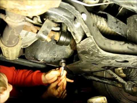 how to change oil on a 02 Saturn Sl2 - YouTube