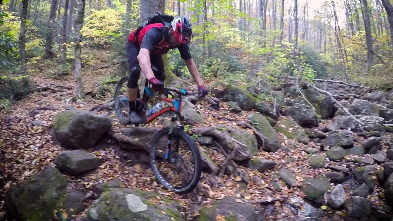 0b0c5154fa5 Jeff Lenosky Trail Boss: Mountain Biking Farlow Gap Trail Pisgah National  Forest Brevard, NC