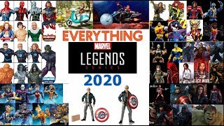 Marvel Legends 2020 Everything We Know So Far And a What To Expect