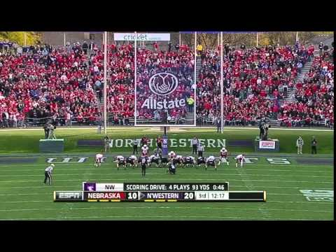 2012 - Nebraska at Northwestern