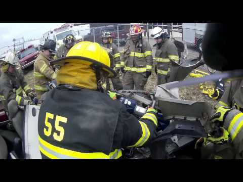 Belmont College Firefighter 2 Transition - Auto Extrication 3/19/17