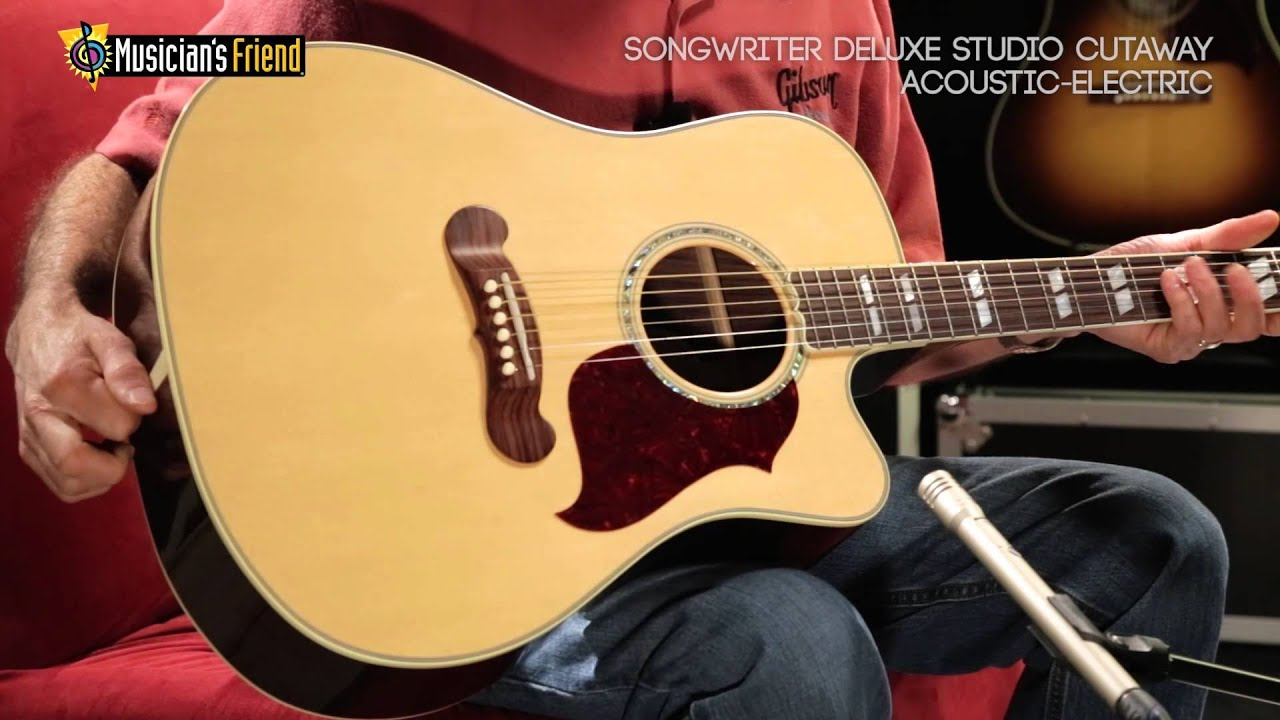 Gibson Songwriter Studio Cutaway Natural