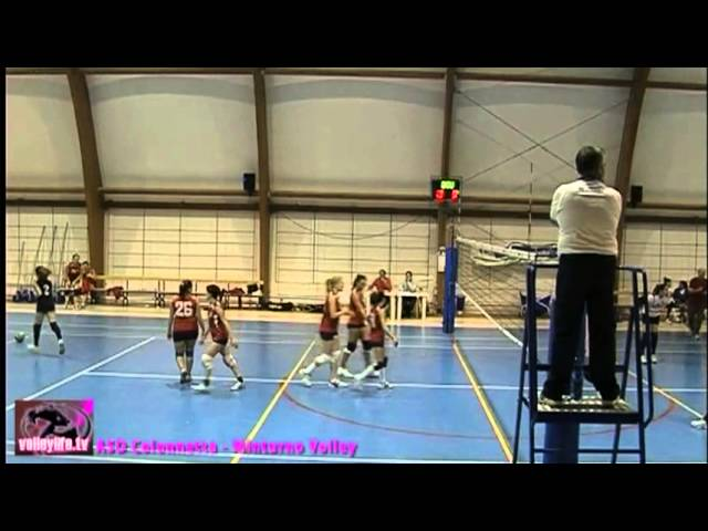 ASD Colonnetta vs Minturno Volley - 3° Set - Playoff II° Div.