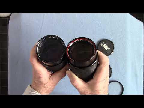 Comparison : Two VIVITAR Series 1 Zooms