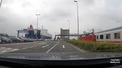 Deutschland eine Fahrt um den Emder Hafen. Hafen Emden Germany GoPro Hero