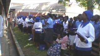 Open Air Worship at Kwekwe, Zimbabwe