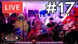 KALA UKULELE GIVEAWAY - Sunny and The Black Pack LIVE STREAM MUSIC - HAPPY HALLOWEEN!! FULL BAND!!