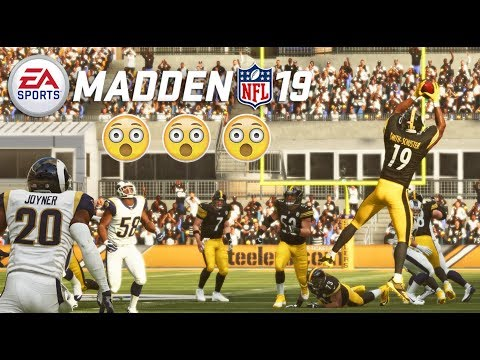 Madden 19 Gameplay (FULL UNCUT) - Steelers vs Rams