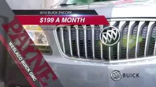 $199/mo 2015 Buick Encore   Payne Buick GMC   Weslaco, Texas