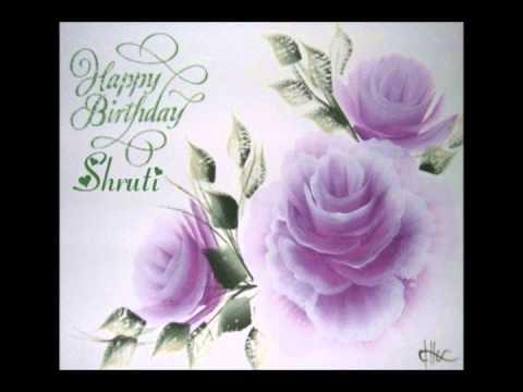Happy Birthday Shruti Haasan