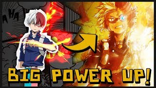 His Flames Have Upgraded! Todoroki's Endeavor Level Flames...
