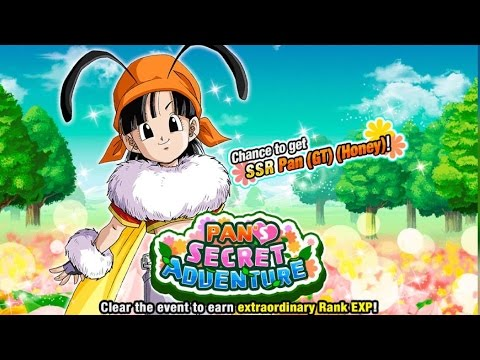 FARM 200K RANK EXP SUPER FAST & EASY! Pan's Secret Adventure: Chance To Get SSR Pan (GT) (Honey)!