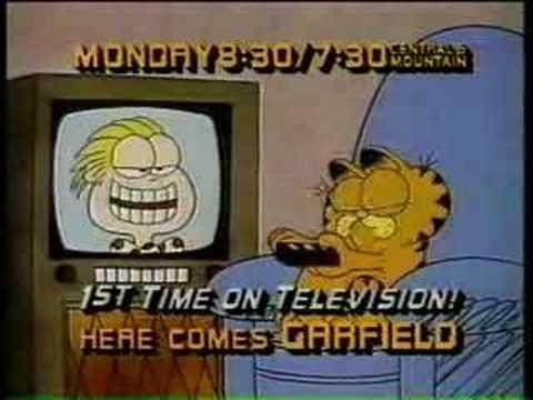 CBS TV   1982 Garfield
