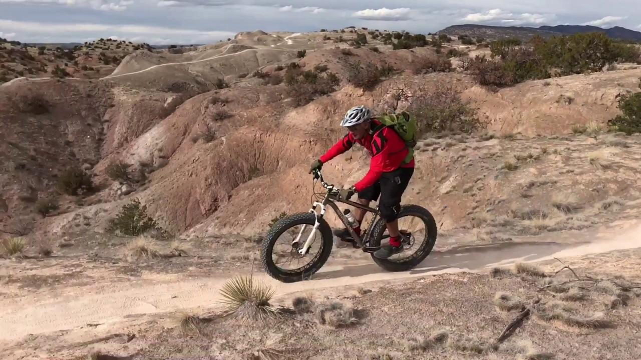 white mesa bike trails albuquerque nm youtube