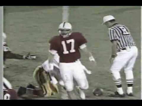 John Lynch college highlights: senior season (1992) at Stanford