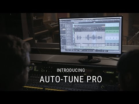 Introducing Auto-Tune Pro - Industry Standard Pitch Correction and Vocal Effects