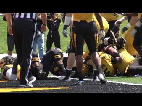 Spring Game 1st Qtr- Marcus Murphy TD