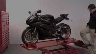 Datona hydraulisch/pneumatisch bediende motorheftafel