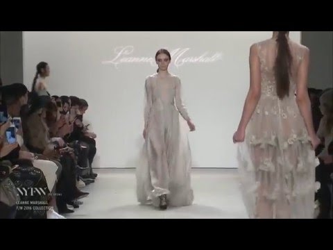Leanne Marshall Fall/Winter 2016/2017 Collection - New York Fashion Week