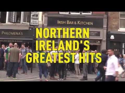 NORTHERN IRELAND FANS SING GREATEST HITS (INCLUDES 'TEAM OF LAFFERTYS')