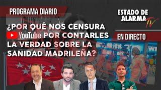 ¿Por qué YOUTUBE nos CENSURA por CONTARLES la VERDAD sobre la SANIDAD MADRILEÑA?
