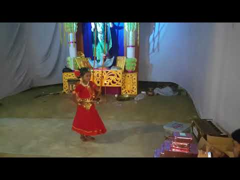 ebarer pujote lal sari nebo video song Dance performance-at rotonpur সার্ব্বজনীন দূর্গোৎসব- 2018