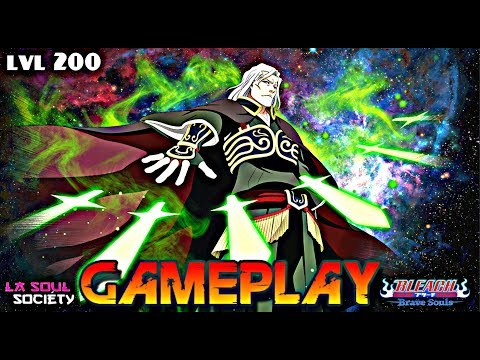Bleach Brave Souls ' Game Play LvL 200 Ganryu (Vitesse/Speed) Hybrid & 145 % N.A.D ' !!