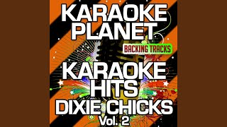 Tortured Tangled Hearts (Karaoke Version With Background Vocals) (Originally Performed By Dixie...