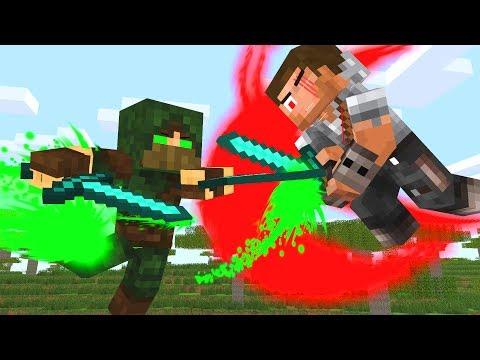 Pro Life 3 - Speed VS Power - Craftronix Minecraft Animation
