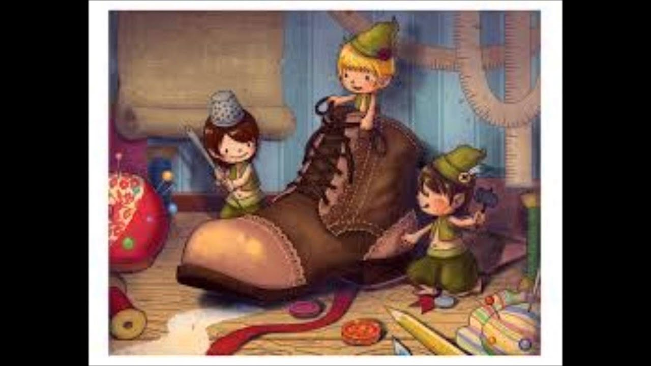 Children's Story - The Elves and the Shoemaker - YouTube