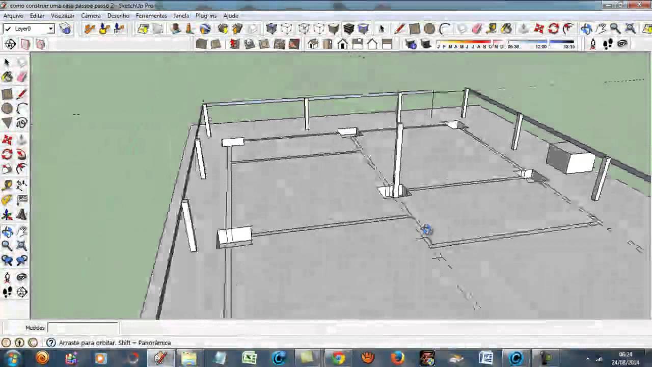 Como construir uma casa passo a passo youtube for Construir casas