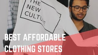 Top 10 stores to buy affordable clothing (Men
