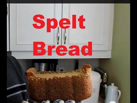 Spelt flour Bread Bread Machine Peter's Kitchen Corner Episode 8